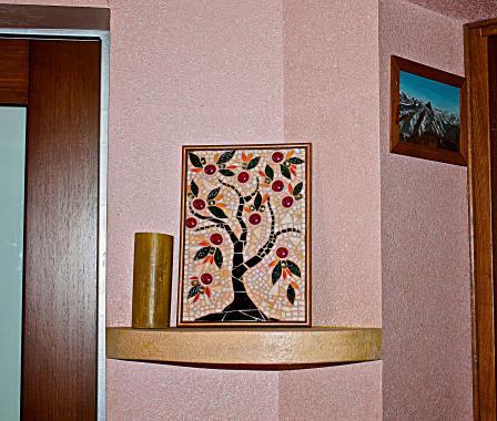 """стеклянная мозаика """"Дерево жизни"""""""