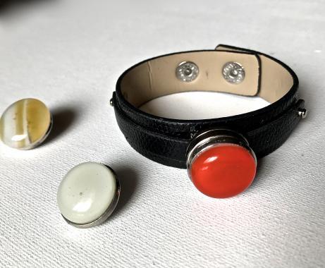 """браслет на руку """"Три в одном"""" из художественного стекла"""