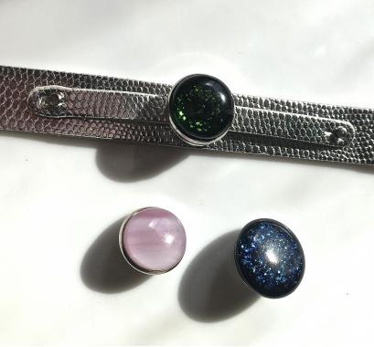 """браслет на руку """"Красивое украшение"""" из художественного стекла"""