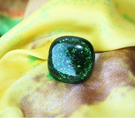 """кольцо """"зеленый мох"""""""