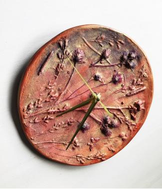 """Настенные часы """"знойное лето"""""""