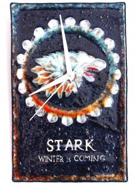 настенные часы Игра престолов Дом Старков