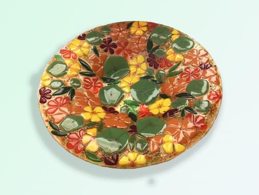 """большое красивое блюдо """"Настурция"""" - самый лучший подарок для хозяйки"""