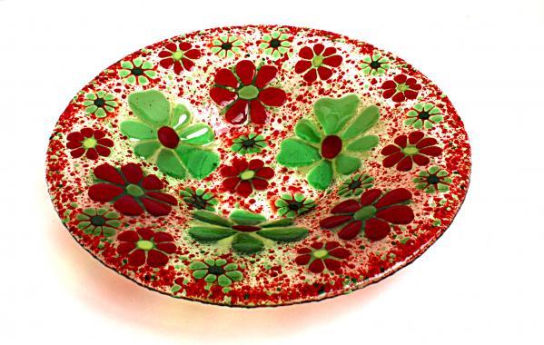 """блюдо праздничное """"Цветочная поляна"""""""