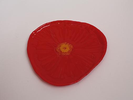 """маленькая тарелка для вкусняшек """"Аленький цветочек"""""""