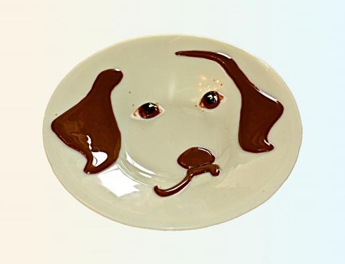 """тарелка """"Лучший друг"""""""