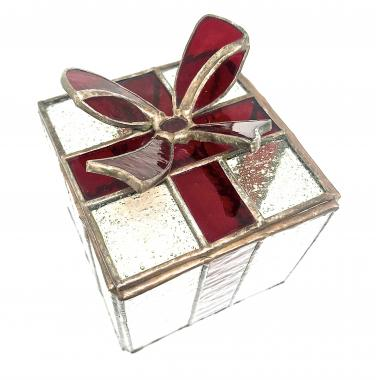 """Шкатулка для украшений """"подарок"""""""