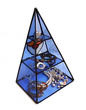 """органайзер для хранения """"стеклянная пирамида"""""""
