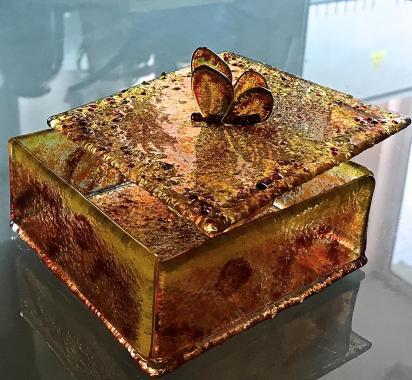 "Шкатулка для хранения ""бабочка"""