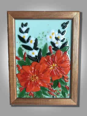 """Картина """"букет с красными цветами"""""""