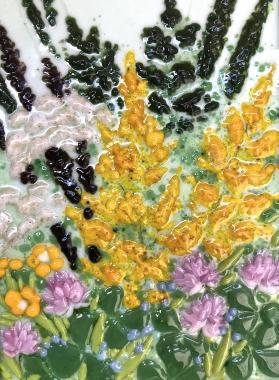 """Картина """"цветы полевые"""""""