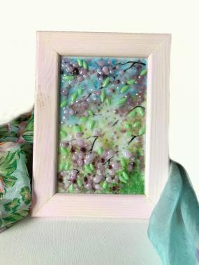 "Картина ""цветение сакуры"""
