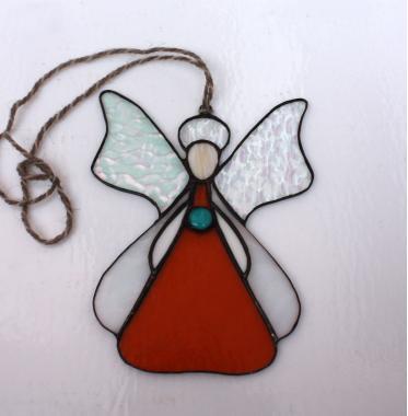 """декоративная подвеска на окно """"Ангел"""""""