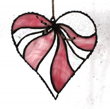 """розовое сердечко """"навсегда"""""""
