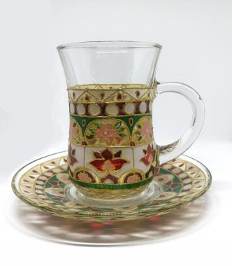 """стакан для чая армуд """"шемаханская царица"""""""
